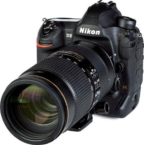 Bild Die Nikon D6 ist mit dem AF-S 80-400 mm 4.5-5.6 G ED VR ein praktikable, flexible Kombination für Fotos auf dem Sportplatz. [Foto: MediaNord]