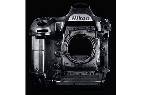 Bild Die Nikon D6 besitzt ein robustes Gehäuse aus einer Magnesiumlegierung. [Foto: Nikon]