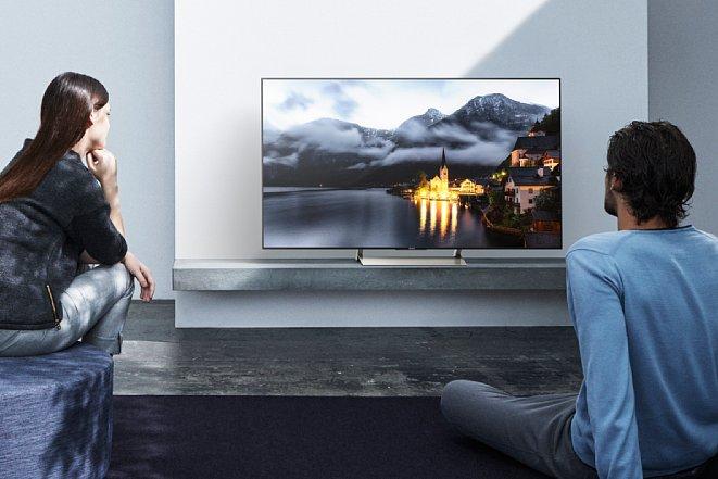 Bild Aktuelle 4K-Fernseher, wie die der Sony Bravia XE90 Baureihe, eignen sich hervorragend zum Betrachten von Fotos in hoher Auflösung. [Foto: Sony]