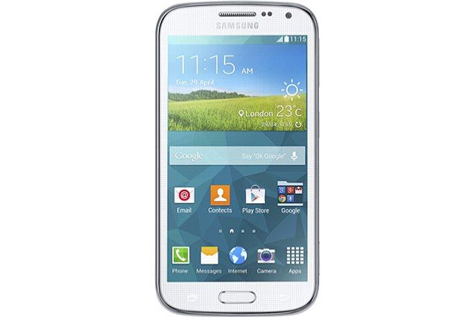 Bild Das Samsung Galaxy K Zoom bietet auch eine kleine Frontkamera mit zwei Megapixeln. [Foto: Samsung]