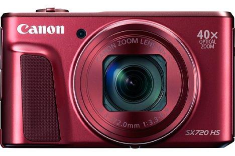 Bild In Schwarz sowie in Rot soll die Canon PowerShot SX720 HS ab April 2016 zu einem Preis von knapp 370 Euro erhältlich sein. [Foto: Canon]