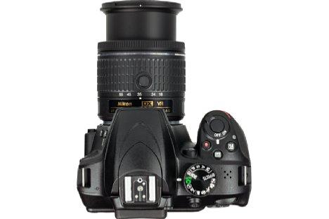 Bild Das Programmwählrad der Nikon D3400 bietet neben den klassischen Kreativmodi auch genug Platz für einige Motivprogramme und vor allem dem für Einsteiger sehr nützlichen Guide-Modus. [Foto: MediaNord]