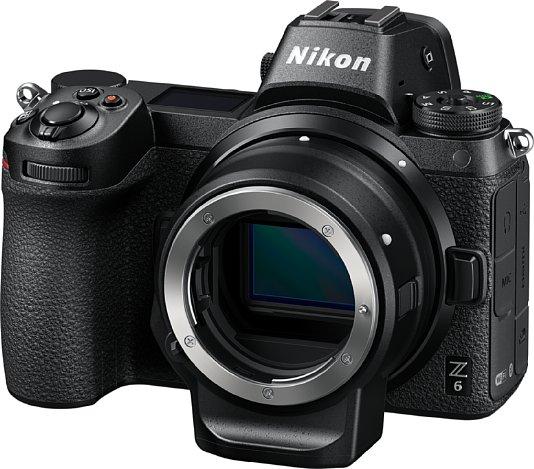 Bild Der FTZ Adapter erlaubt den Betrieb von Nikon F-Objektiven, bei AF-I-, AF-S- und AF-P-Objektiven auch mit Autofokus. [Foto: Nikon]