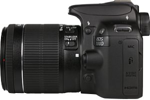 Canon EOS 100D mit EF-S 18-55 mm IS STM [Foto: MediaNord]
