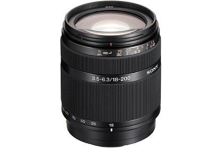 Sony DT 18-200 mm 3.5-6.3 (SAL-18200) [Foto: Sony]