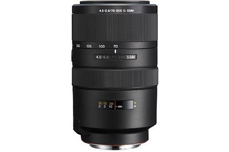 Sony 70-300 mm 4.5-5.6 G SSM (SAL-70300G). [Foto: Sony]