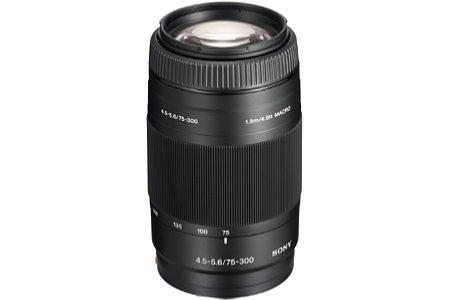 Sony 75-300 mm 4.5-5.6 (SAL-75300) [Foto: Sony]