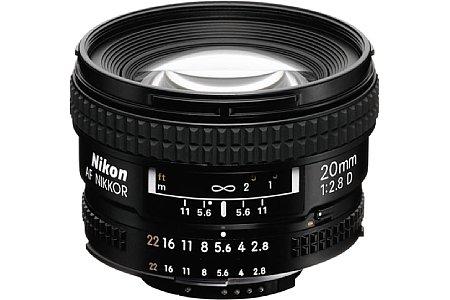 Nikon AF 20 mm 2.8 D [Foto: Nikon]