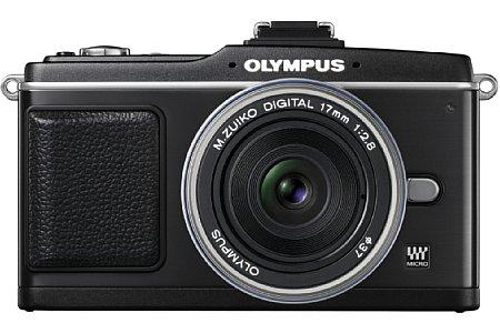 Olympus Pen E-P2 mit ZUIKO DIGITAL 17 mm 1:2.8 [Foto: Olympus]