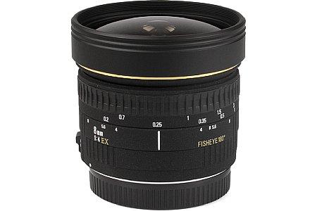 Objektiv Sigma CAF EX Fisheye 4,0 8 mm [Foto: Imaging One]