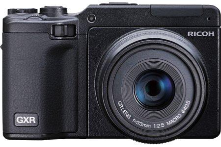 Ricoh GXR mit GR-Objektiv 50 mm F2.5 Macro [Foto: Ricoh]