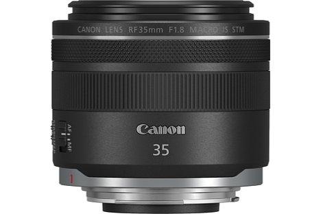 Bild Canon RF 35 mm 1:1.8 Macro IS STM. [Foto: Canon]