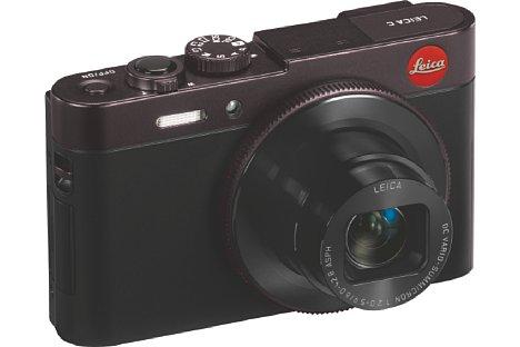 """Bild Neben """"light-gold"""" (Cremeweiß-Gold) soll die Leica C (Typ 112) auch in """"dark-red"""" (Schwarz-Rot) angeboten werden. [Foto: Leica]"""