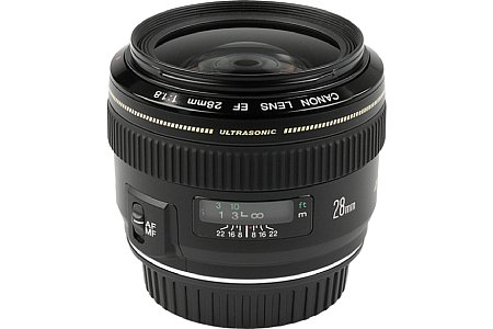 Objektiv Canon EF 28 mm 1.8 USM [Foto: Imaging One]