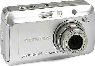 Digitalkamera Olympus mju 500 Digital [Foto: Olympus Europa]