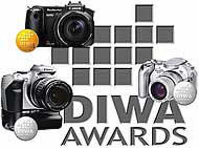 DIWA-Awards im Juli 2004 für Canon [Foto: DIWA] [Foto: Foto: DIWA]
