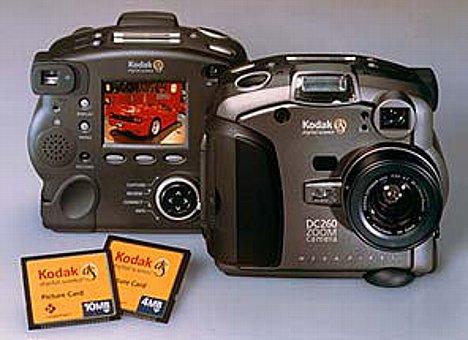Bild Kodak DC260 [Foto: Kodak] [Foto: Foto: Kodak]