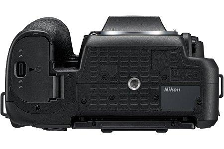 Bild Im Akkufach der Nikon D7500 sitzt ein neues Akku vom Typ EN-EL15a, der kompatibel zum Vorgängermodell ist (das Ladegerät MH-25a ist dasselbe). 950 Aufnahmen sollen nach CIPA-Standard möglich sein. [Foto: Nikon]