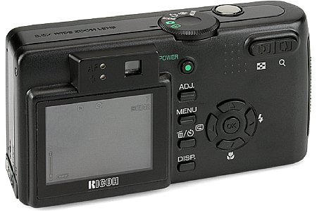 Digitalkamera Ricoh Caplio RX [Foto: Ricoh Europe]