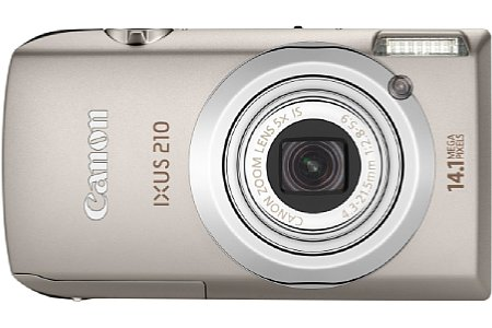 Canon Digital Ixus 210 IS [Foto: Canon]