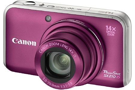 Canon PowerShot SX210 IS [Foto: Canon]
