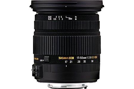 Sigma 17-50 mm 2.8 EX DC OS HSM [Foto: Sigma]