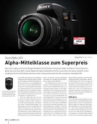 Sony Alpha 450
