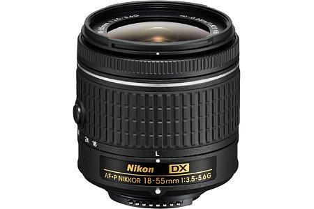 AF-P 18-55 mm 3.5-5.6G DX. [Foto: Nikon]