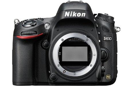 Bild Nikon D610 [Foto: Nikon]