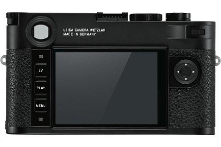 Leica M10 in Schwarz. [Foto: Leica]
