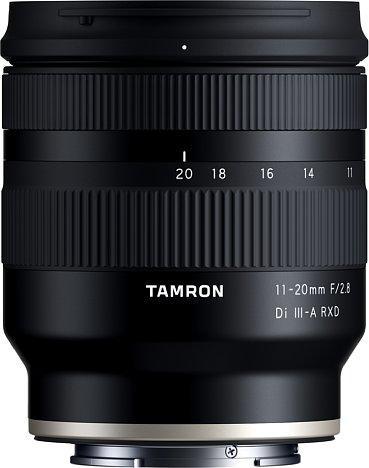 Bild Tamron 11-20 mm F2.8 Di III-A RXD (B060). [Foto: Tamron]