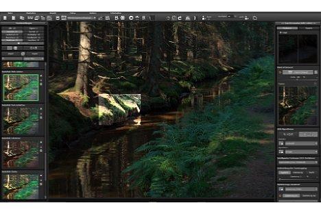 """Bild Die """"Point of Intrest""""-Funktion erlaubt es nur einen kleinen Bildbereich in voller Auflösung mit Effekten zu berechnen und spart damit Arbeitszeit. [Foto: MediaNord]"""