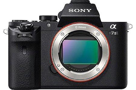 Bild Der Vollformat-Bildsensor der Sony Alpha 7 II löst weiterhin 24 Megapixel auf und bietet 117 Phasen-Autofokuspunkte. Der Autofokus soll aber um 30 Prozent schneller sein als noch bei der Alpha 7. [Foto: Sony]