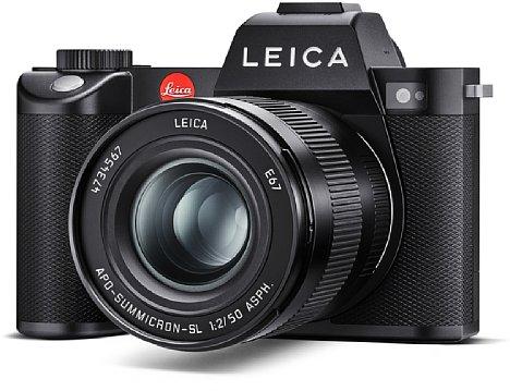 Bild Das Gehäuse der Leica SL2 besteht aus gefrästem Aluminium und ist nach IP54 gegen Staub und Spritzwasser geschützt. [Foto: Leica]