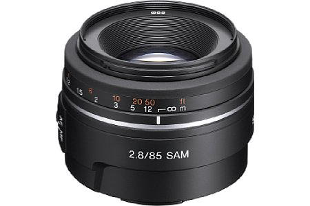 Sony 85 mm F2.8 SAM (SAL85F28) [Foto: Sony]