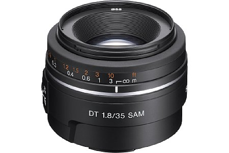 Sony DT 35mm F1.8 SAM (SAL35F18) [Foto: Sony]