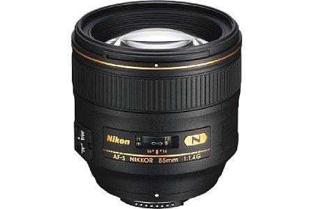 Nikon AF-S NIKKOR 85 mm [Foto: Nikon]