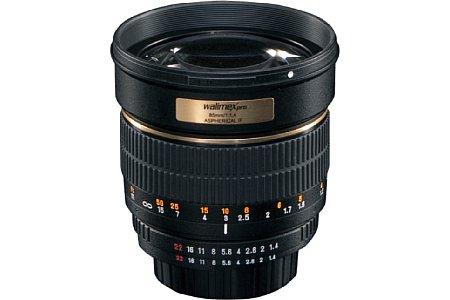 Walimex pro Teleobjektiv 85 mm F1,4 IF [Foto: Walimex]