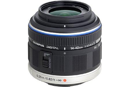 Olympus 14-42 mm 3.5-5.6 II M (EZ-M1442-II) schwarz [Foto: Olympus]