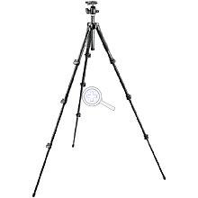 Manfrotto MK293A4-A0RC2 Alu-Stativ mit 494RC2 Kugelkopf