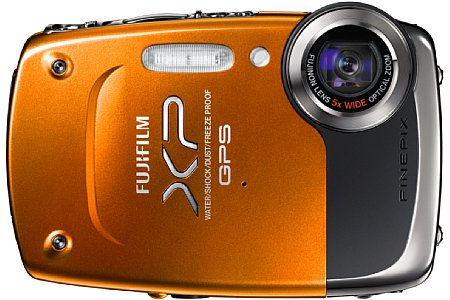 Fujifilm FinePix XP30 orange [Foto: Fujifilm]