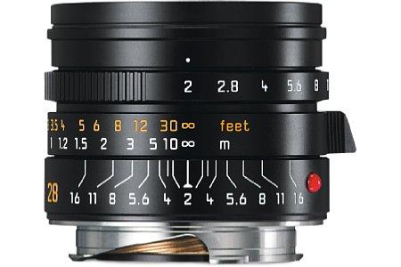 Leica Summicron-M 1:2/28 mm Asph. [Foto: Leica]
