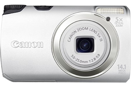 Canon PowerShot A3200 IS silver [Foto: Canon]