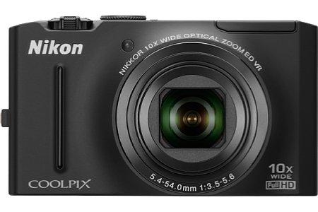 Nikon Coolpix S8100 schwarz [Foto: Nikon]