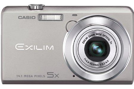 Casio Exilim EX-ZS10 silber [Foto: Casio]