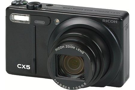 Ricoh CX5 schwarz [Foto: Ricoh]