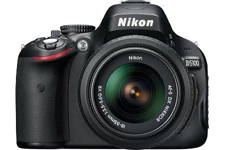 Nikon D5100 mit 18-55 mm 1:3.5-6.6 G VR [Foto: Nikon]