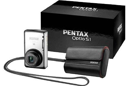 Pentax Optio S1 schwarz [Foto: Pentax]