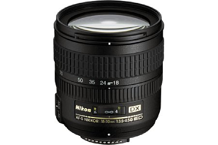 Nikon AF-S DX G IF-ED 3.5-4.5 18-70 mm [Foto: imaging-one.de]