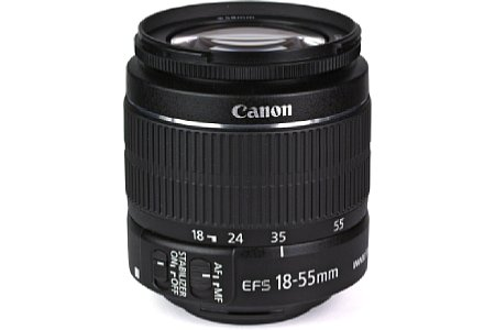 Canon EF-S 18-55 mm 3.5-5.6 IS II [Foto: MediaNord]